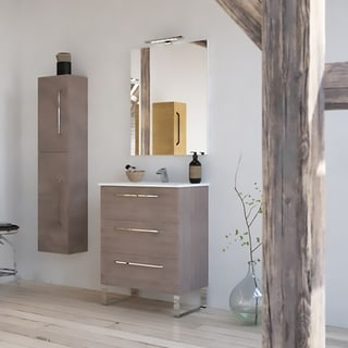 "24"" Modern Bathroom Vanity Set 