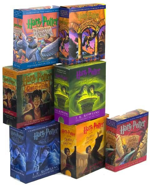 Harry Potter Complete Audio Collection (CD-Audio) - Thumbnail 0