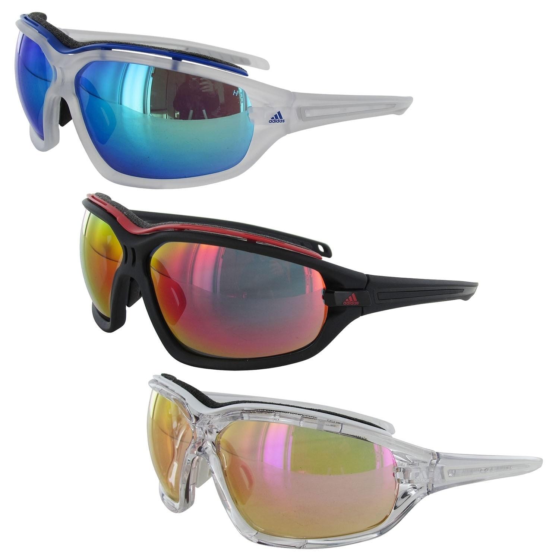 Aclarar Lirio Apoyarse  Shop Adidas 'Evil Eye Pro L' Wraparound Sport Sunglasses - Overstock -  30329854