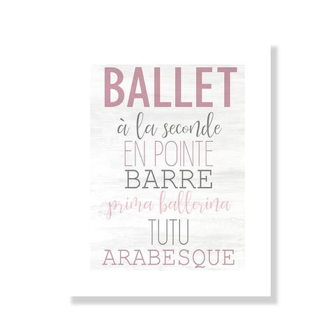 Ballet All Day 2 - Pink