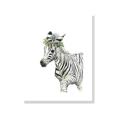 Savannah Zebra - Black