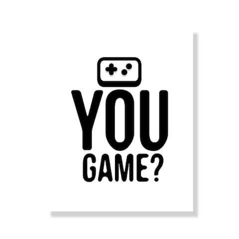 You Game - Black