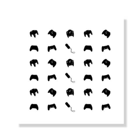 Gamer Pattern - Black
