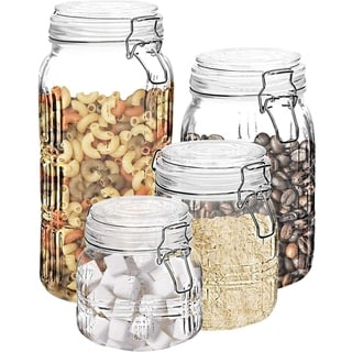 Link to Stylesetter Portland Square 4-Piece Canister Set Similar Items in Kitchen Storage