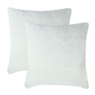 Olivia Quido Allure Luxury Faux Fur 24-inch Pillow 2-pack
