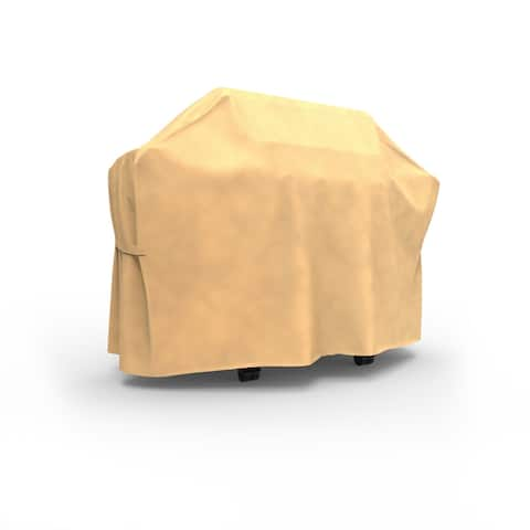 Budge Water-Resistant OutdoorBBQ Grill Cover, All-Seasons, Nutmeg, Multiple Sizes