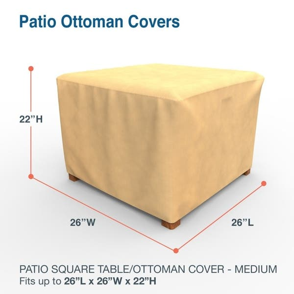 Outdoor Square Patio Table Cover