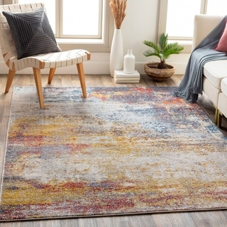 Robbie Abstract Modern Area Rug