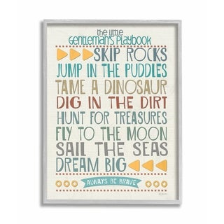 The Kids Room by Stupell The Little Ladys Playbook Typography Canvas Art 16 x 20
