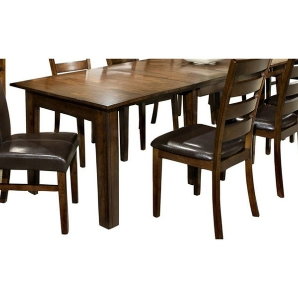 Kona Raisin 38 x 64-130 Extended Leaf Dinette Table. Opens flyout.