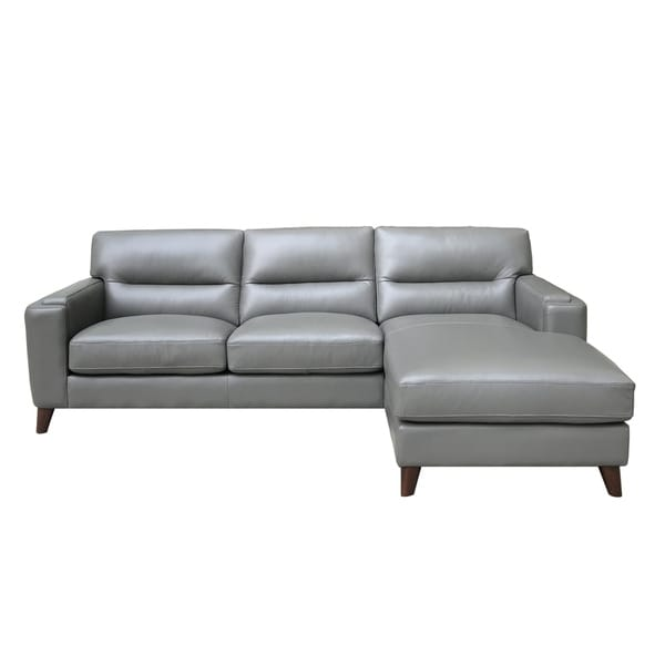 Elldallin Genuine Leather Sectional Sofa. Opens flyout.