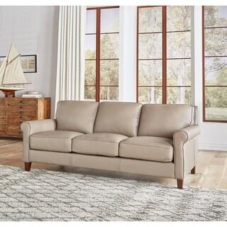 Basalt Genuine Leather Sofa