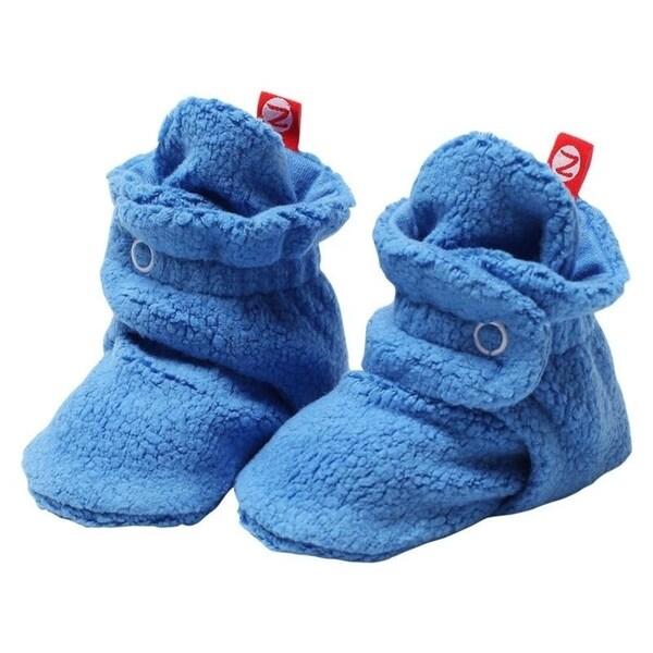 Shop Zutano Light Blue Cozie Fleece
