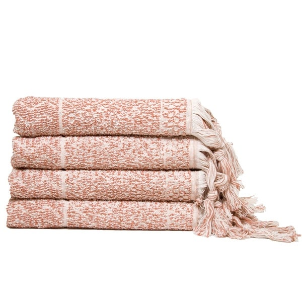 Hitit Jacquard Yarn Dyed Turkish Hand Towels Pack of 4. Opens flyout.