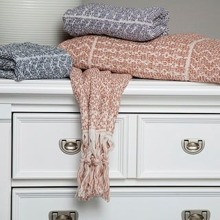 Link to Hitit Jacquard Yarn Dyed Turkish Bath Towels Pack of 3 Similar Items in Towels