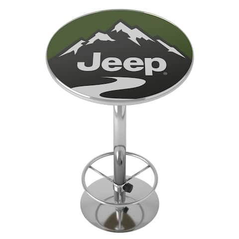 Jeep Mountain Chrome Pub Table
