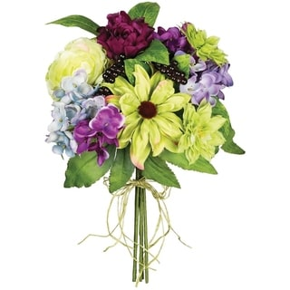 Hydrangea and Dahlia and Berry Bouquet