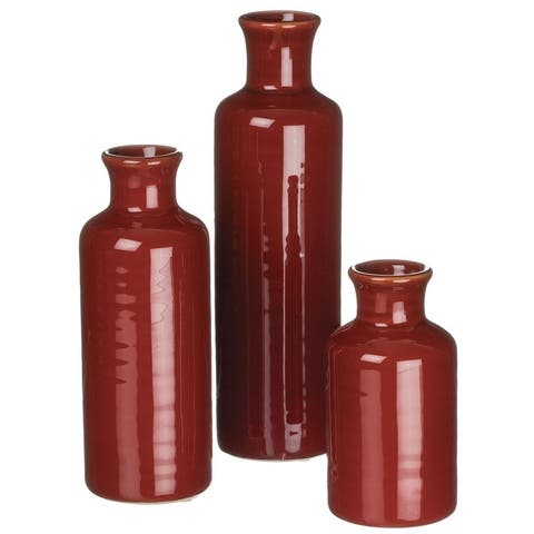 Bottle Vase - Set of 3