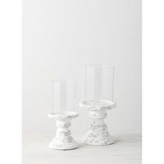 Pillar Candle Holder - Set of 2