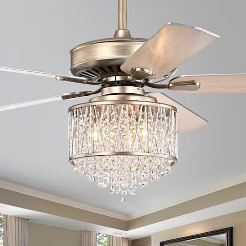 Silver Orchid Mason 5-Blade Ceiling Fan