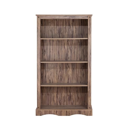 """Simplicity Bookcase with 4 Shelves - 33.13"""" x 11.5"""" x 59.13"""""""