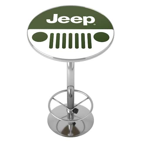 Jeep Grille 2 Chrome Pub Table