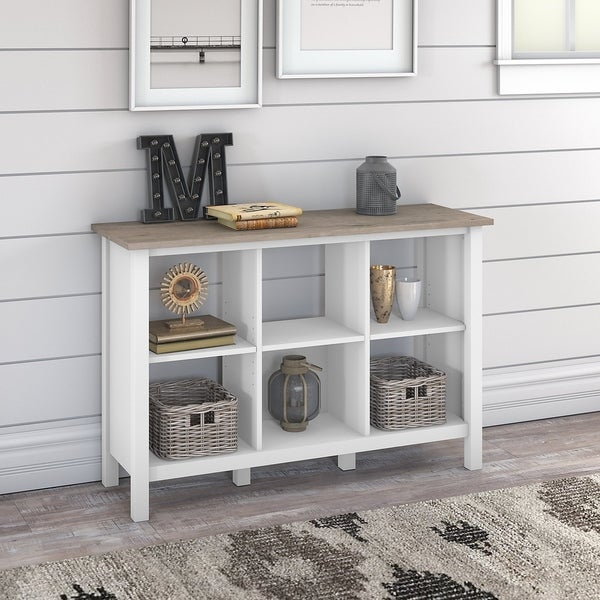 The Gray Barn Orchid Gulch 6-cube Bookcase
