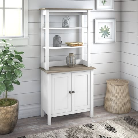 The Gray Barn Orchid Gulch 5-shelf Bookcase with Doors