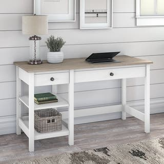 Mayfield 54W Computer Desk with Shelves by Bush Furniture