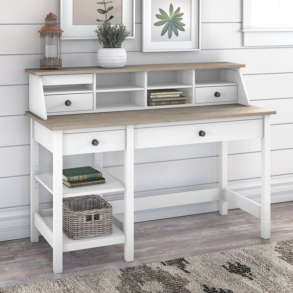 Mayfield Computer Desk with Shelves and Organizer by Bush Furniture