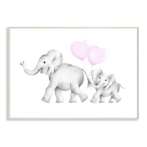 Taylor & Olive Mama and Baby Elephant Wall Art