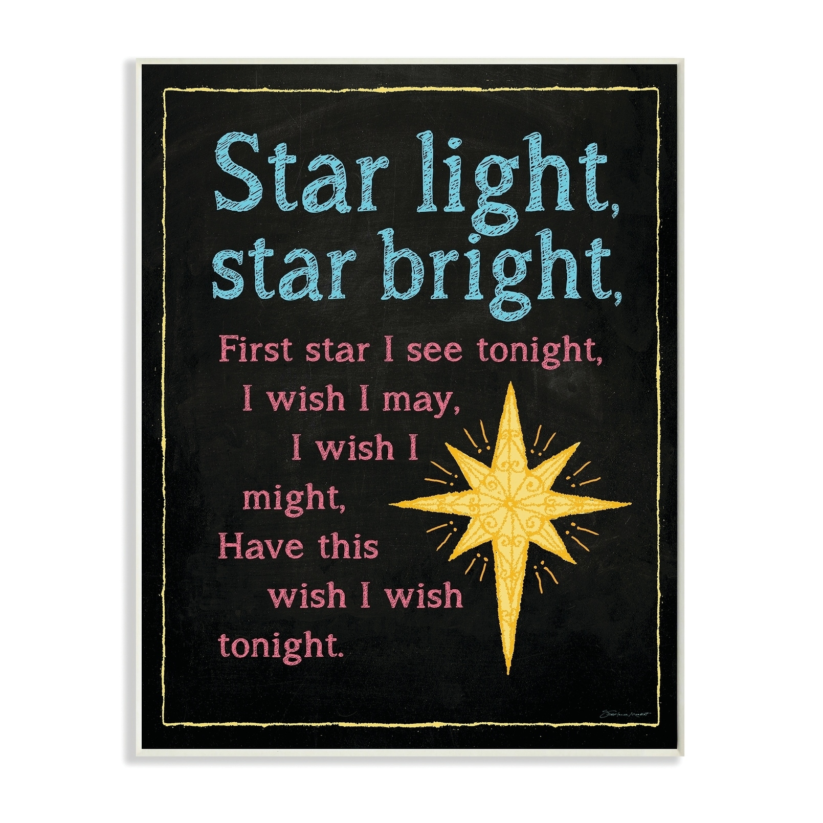 Star Bright Nursery Rhyme