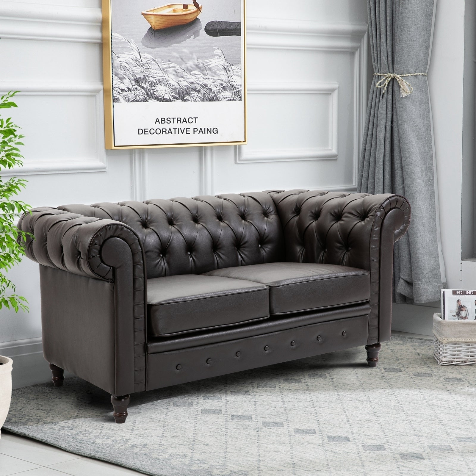 Homcom Pu Leather 2 Or 3 Seater