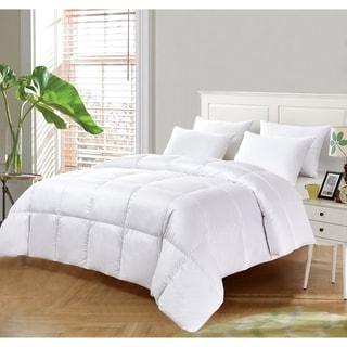 kathy ireland Ultra Soft Light Warmth White Down Fiber Comforter