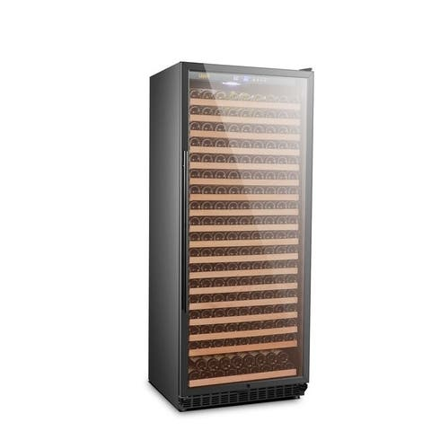 Lanbo Single Zone Freestanding Wine Cellar Refrigerator, 321 Bottle