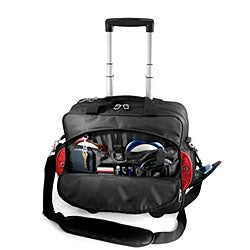 G Pacific by Traveler's Choice Techno 17-inch Rolling Computer Briefcase