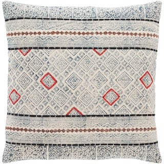 Lukina Global Block Print 20-inch Throw Pillow
