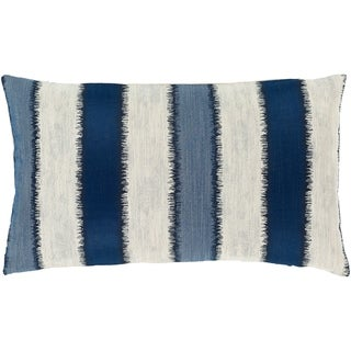 Etta Striped Coastal 14x24-inch Lumbar Throw Pillow