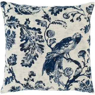 Link to Etta Blue & Ivory Toile Throw Pillow Similar Items in Decorative Accessories