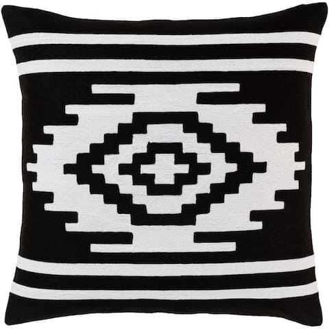 Sattley Southwestern Embroidered 22-inch Throw Pillow