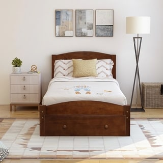 Copper Grove Cregneash Twin Bed Frame with Storage Drawer