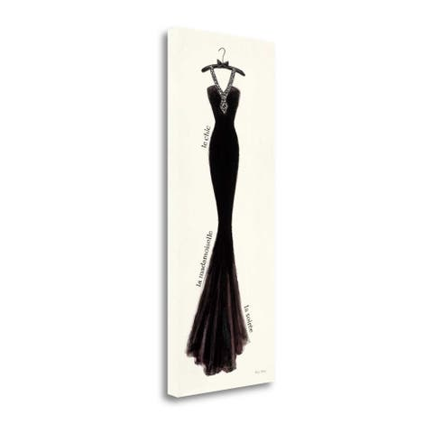 """""""Couture Noir Original Lii"""" by Emily Adams, Giclee Print on Gallery Wrap Canvas"""