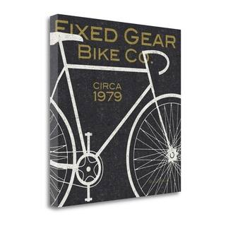 """""""Fixed Gear Bike Co"""" By Michael Mullan, Fine Art Giclee Print on Gallery Wrap Canvas, Ready to Hang"""