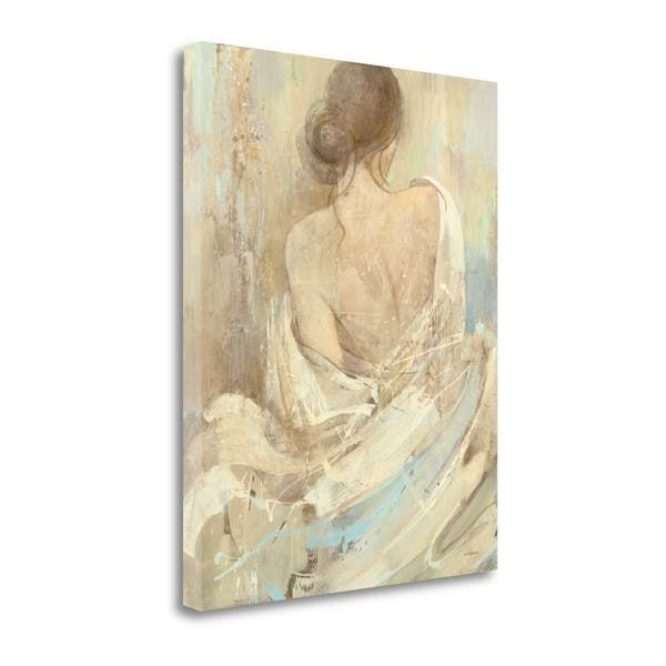 Shop Abstract Figure Study I By Albena Hristova Giclee On Gallery Wrap Canvas Overstock 30345234