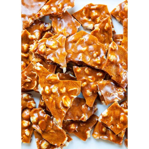 Andy Anand Old Fashioned Handmade Spicy Peanut Brittle 1 lbs
