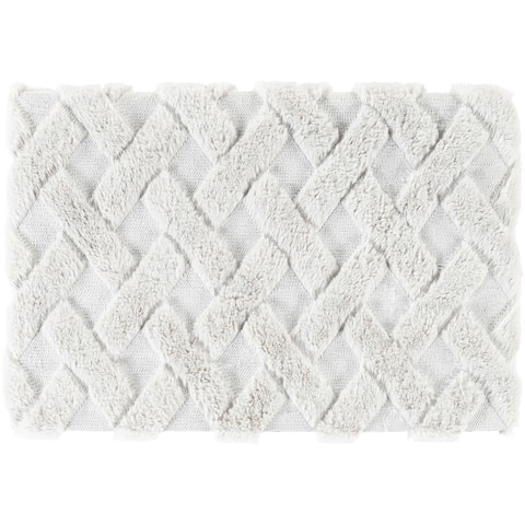 Hettie Modern Faux Fur Throw
