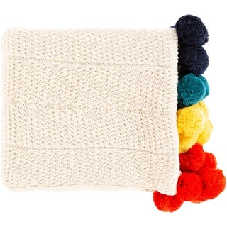 Link to Polly Modern Pom Pom Cotton Throw Similar Items in Blankets & Throws