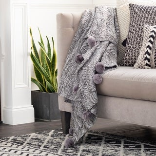 Link to Oakley Knitted Pom Pom Throw Similar Items in Blankets & Throws