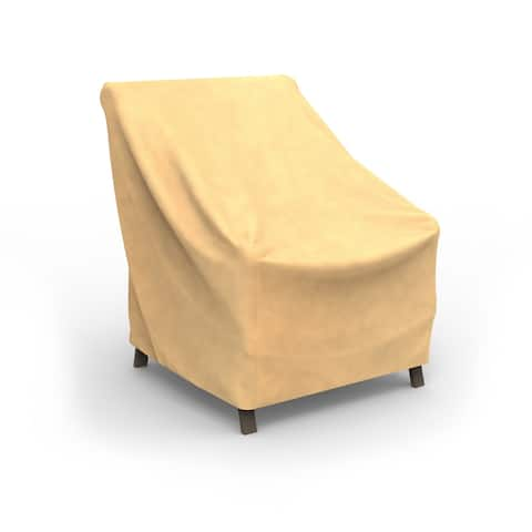 Budge Water-Resistant OutdoorPatio Chair Cover, All-Seasons, Nutmeg, Multiple Sizes