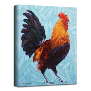 'Strut' Rooster Canvas Wall Art
